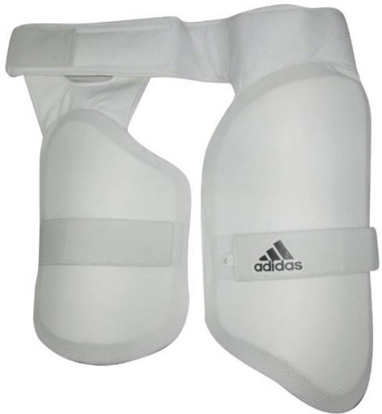 4bb55fe58 ADIDAS XT 2.0 Thigh Guards Mens RH Cricket Thigh Guard (Men's, White, Black)