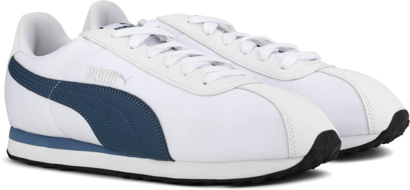 0fb4212e67eec3 Puma Turin NL Sneakers For Men - Buy Puma White-Blue Indigo Color ...
