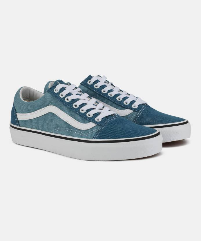 e2ef9eccd2f Vans Old Skool Sneakers For Men - Buy (Denim 2-Tone) blue true white ...