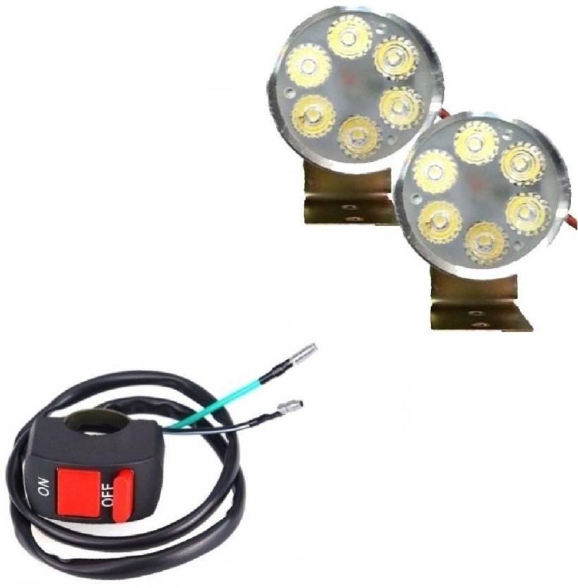 f3d517982bb Autosky 6 Led Fog Light set of 2