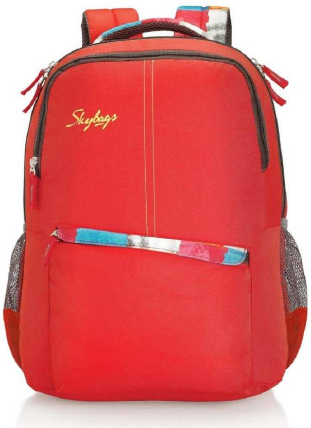 b942a555f9 ... Skybags FOOTLOOSE COLT 03 Waterproof School Bag check out 98b57 5d868   Skybags Polyester Laptop Backpack-Red ...