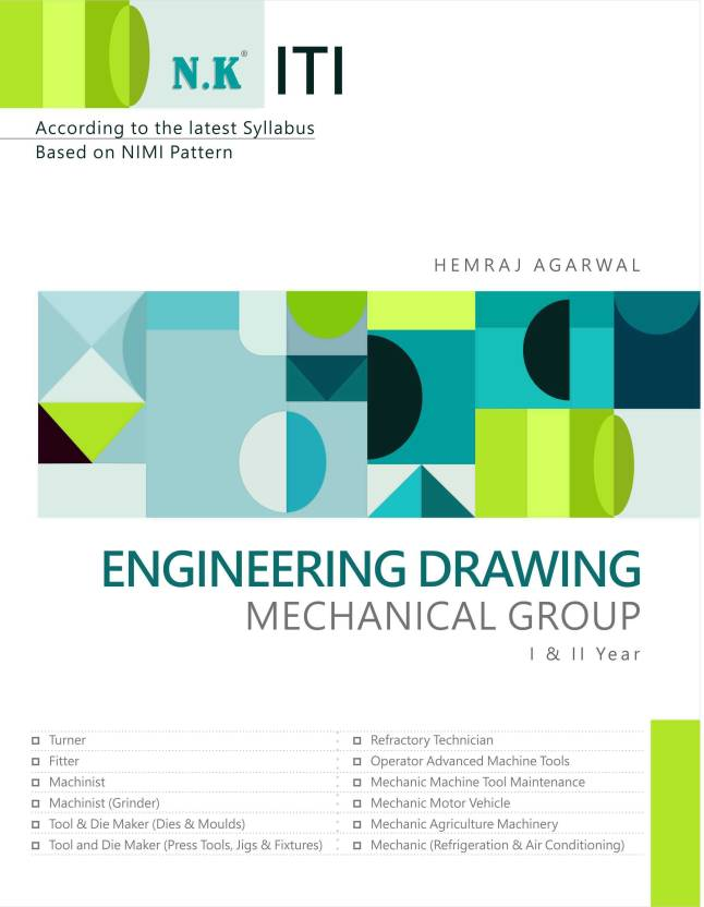 ITI Engineering Drawing Mechanical Group (I & II Year) - Buy ITI ...