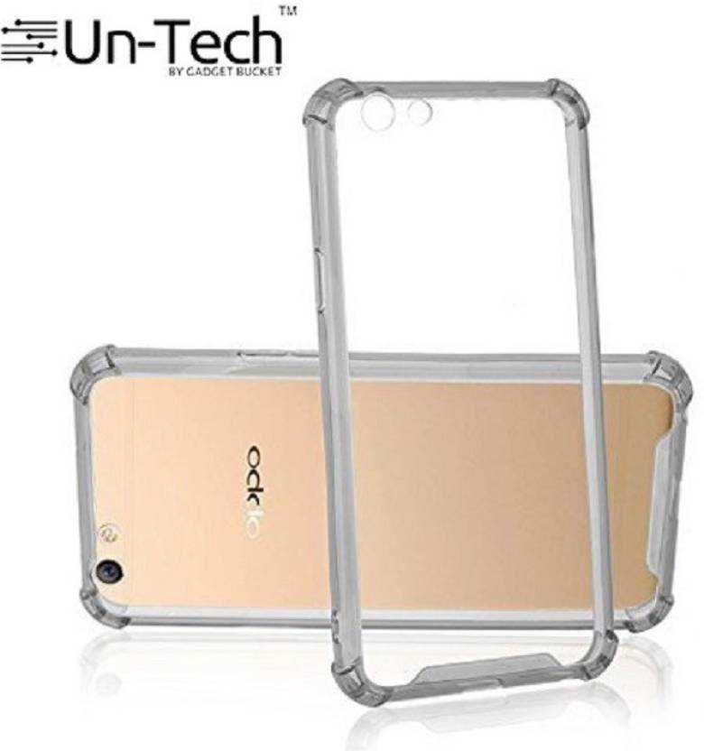buy online d718a 479a0 Un-Tech Back Cover for Oppo A57 Flexible Shockproof Transparent TPU ...