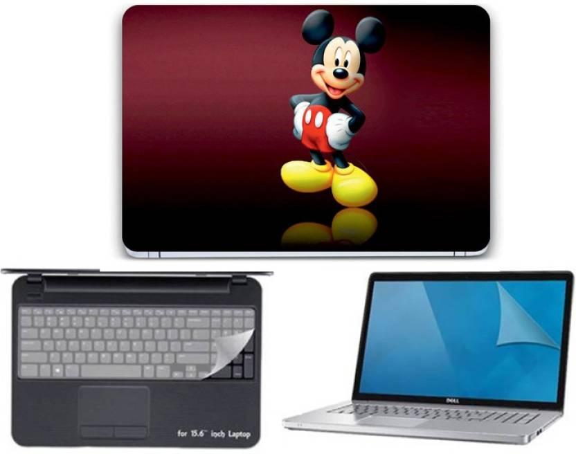 Gallery 83 Mickey Mouse Wallpaper Laptop Skin Sticker Decal Key