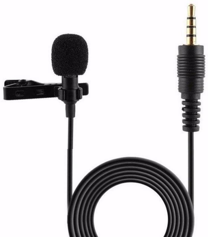 LS Letsshop Collar Mic For Mobile, PC, Laptop, Android Smartphones  Microphone