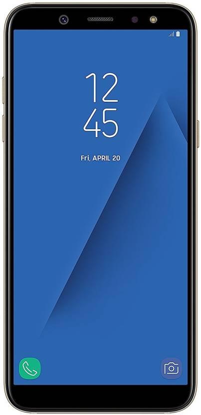 Samsung A6 (Gold, 64 GB)