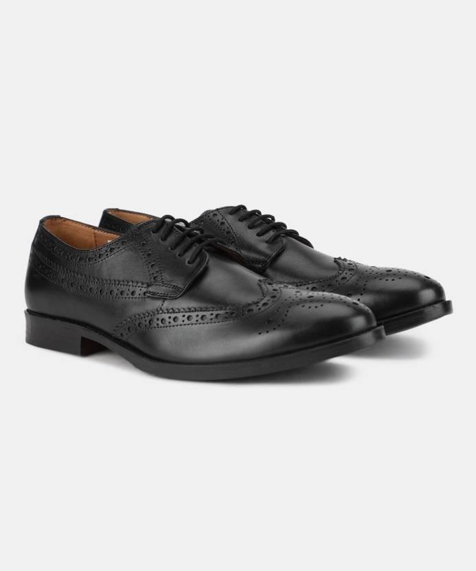 acddf5984d6 Van Heusen Brogues For Men - Buy BLACK Color Van Heusen Brogues For ...