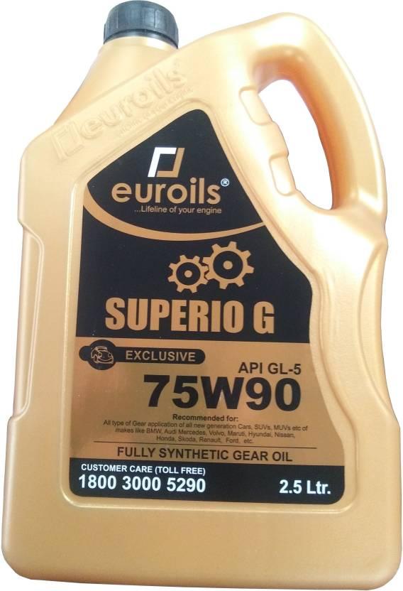 Euroils EU-AG2-002-500 Superio Pro 75w-90 GL-5 (Synthetic Gear Oil