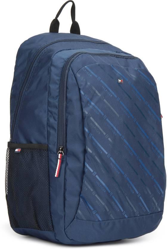a0374f24b Tommy Hilfiger TURKEY 15 L Backpack NAVY - Price in India   Flipkart.com