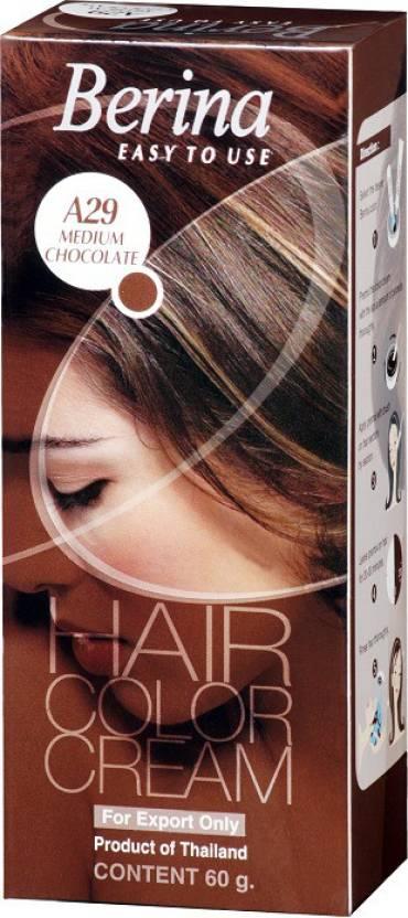 Berina Medium Chocolate Hair Color Cream Hair Color Price In India