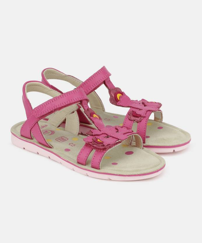 8884220295ac Clarks Girls Velcro Strappy Sandals Price in India - Buy Clarks ...