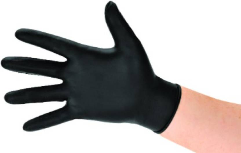 Life N Care Black Tattoo Gloves Latex Examination Gloves Price In