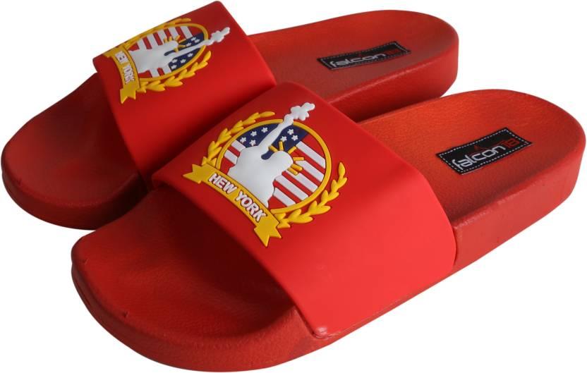 dbe00e12de1adf Falcon18 Falcon18 Slide Sandals 3D Embosed New York Non-Slip Molded Footbed  Front Open Slippers And Flipflops. Slides - Buy Falcon18 Falcon18 Slide  Sandals ...