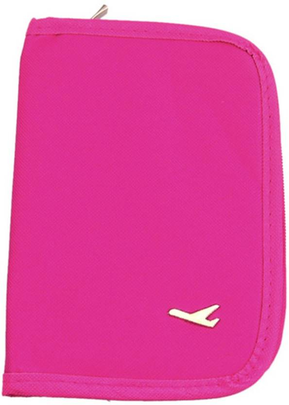 657a369d6753 House of Quirk Document Holder Travel Passport Wallet Holder Pink ...