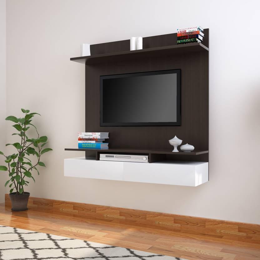 304b61258d1 Flipkart Perfect Homes Berghain Engineered Wood TV Entertainment Unit  (Finish Color - Wenge)