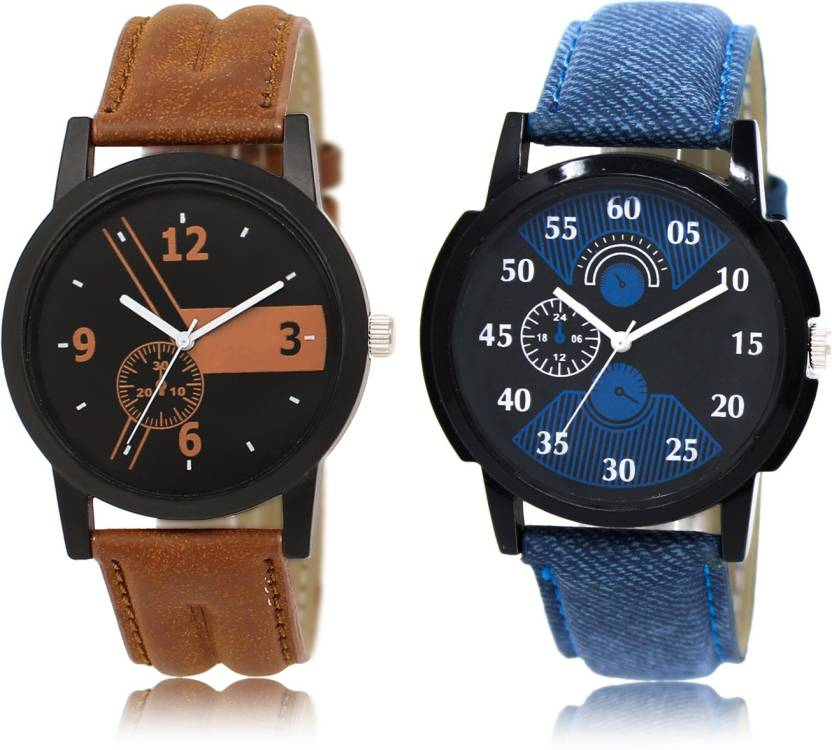 214ae9373fb ADK LR01 02 New Stylish Attractive Combo Watch - For Men