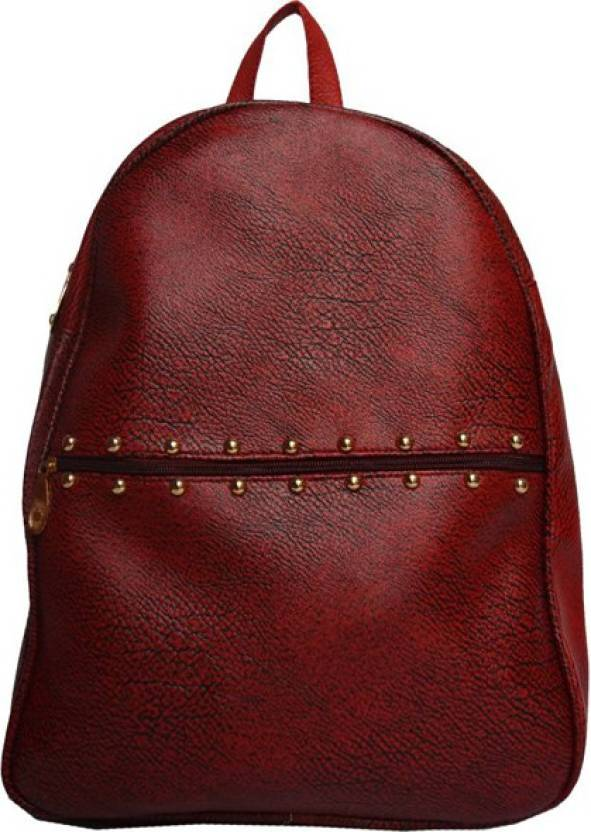 1dea16293e Aj style dj992 maroon 6 L Backpack maroon - Price in India ...