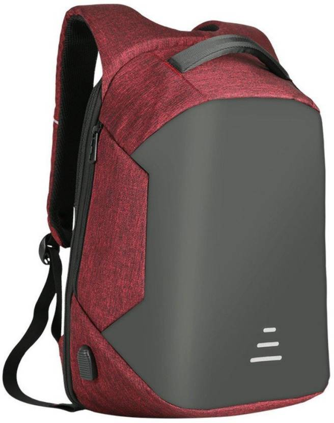 82265536bc21 Zureni Anti Theft Business Laptop Backpack with USB Charging Port headphone  Port
