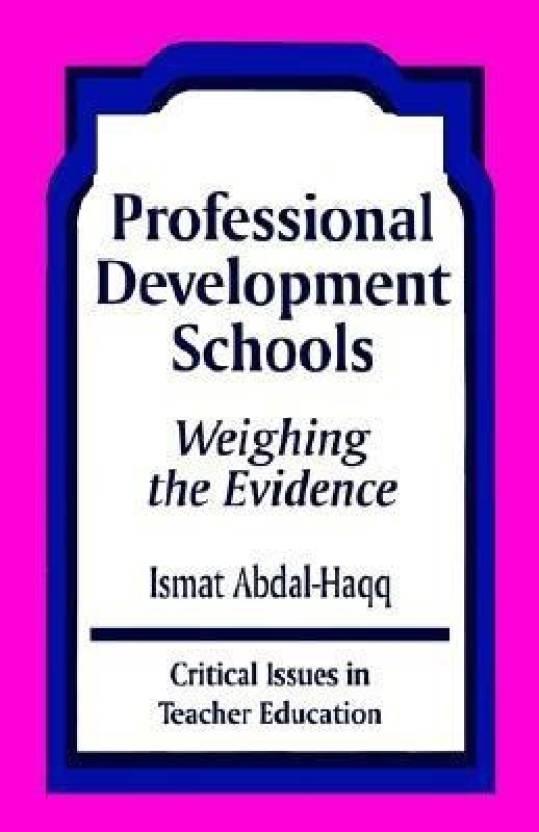Professional Development Schools Buy
