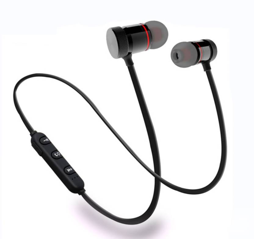 b86ccd7af4b KBOOM Bluetooth Wireless Headphone Sport Neckband Running Handfree Stereo  Magnet Earbuds With Microphone Earphones/Jogger ...