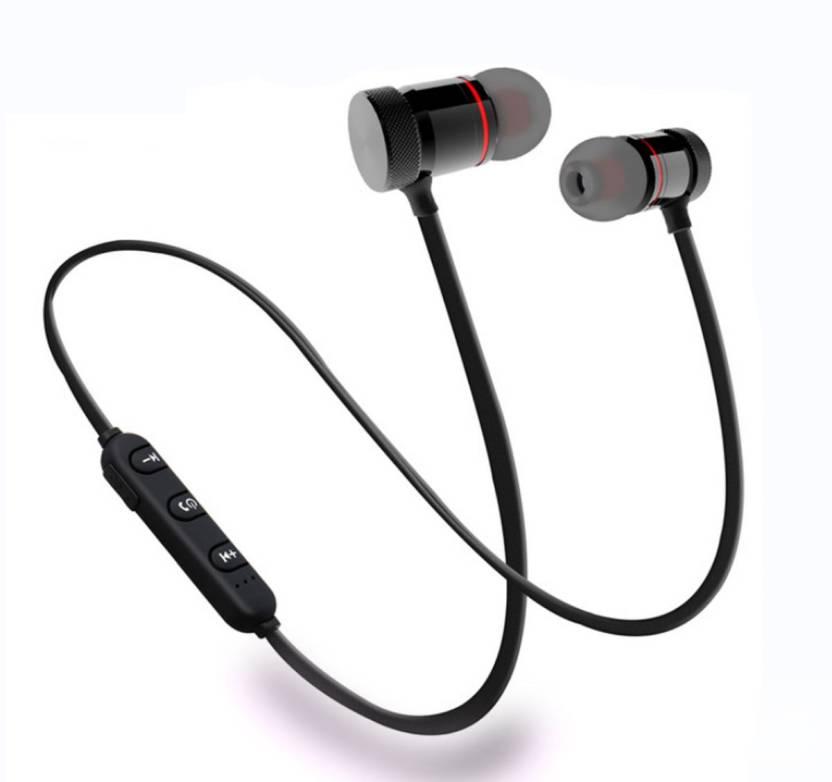 ffaf82d7dcf KBOOM Bluetooth Wireless Headphone Sport Neckband Running Handfree Stereo  Magnet Earbuds With Microphone Earphones/Jogger ...