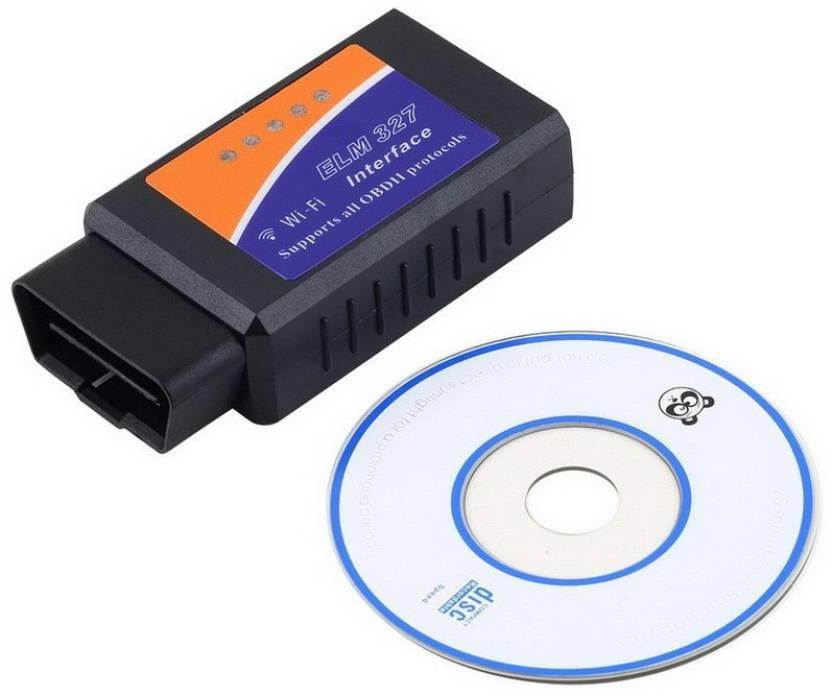 Elegadget WiFi OBD2 Car Diagnostic Scanner & Code Reader OBD Interface