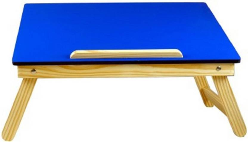 Awe Inspiring Buy Again Blue Wooden Multipurpose Table For Laptop Study Reading Eating Craft Work Wood Portable Laptop Table Ibusinesslaw Wood Chair Design Ideas Ibusinesslaworg