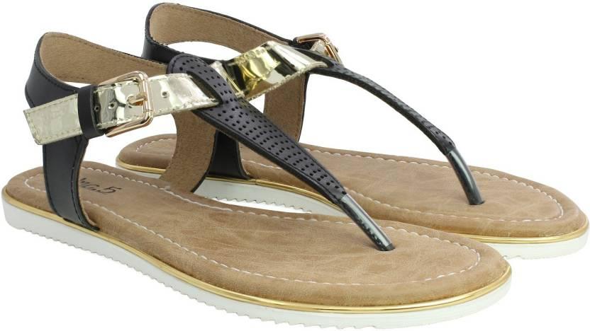aa5438e306e6 Inc.5 Women BLACK Flats - Buy Inc.5 Women BLACK Flats Online at Best Price  - Shop Online for Footwears in India