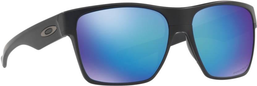 305139dd27 Buy Oakley TWOFACE XL Retro Square Sunglass Blue For Men Online ...
