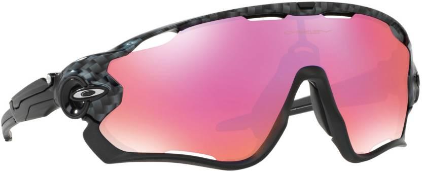 6c9218c3685 Buy Oakley JAWBREAKER Sports Sunglass Orange For Men Online   Best ...