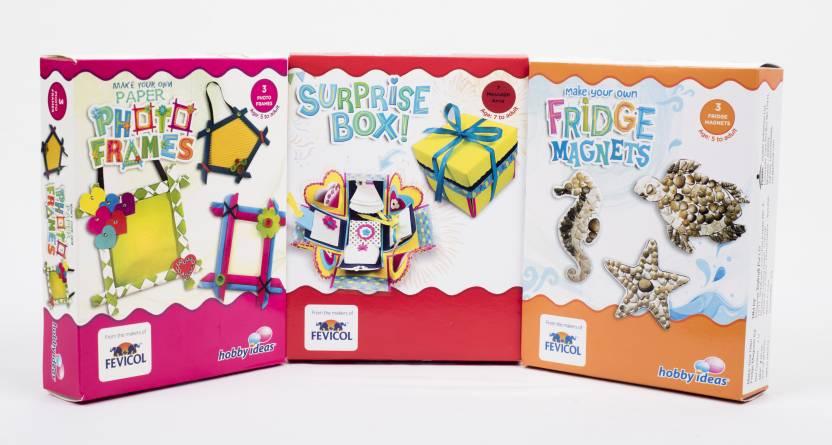 Hobbyideas Diy Art Craft Kit Combo Set Of 3 Fridge Magnet
