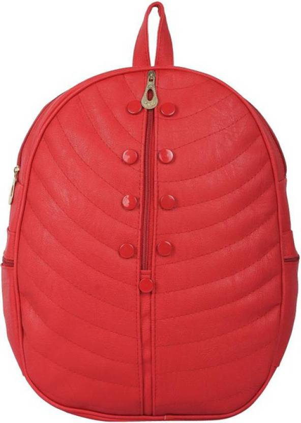 ba072fc1d6 Aj style mp034 red 8 L Backpack red - Price in India