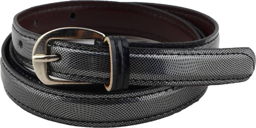 18390309fe2db Shree Fashion Men & Women Casual Black Artificial Leather Belt Black -  Price in India | Flipkart.com