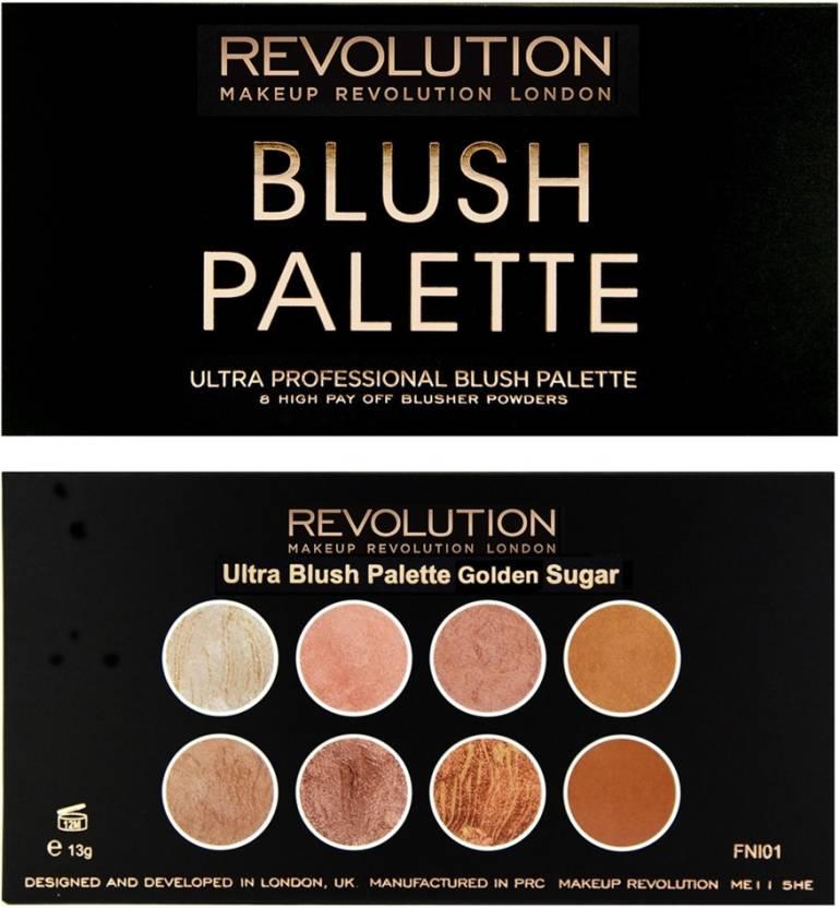 Makeup Revolution Ultra Blush Golden Sugar (Golden)