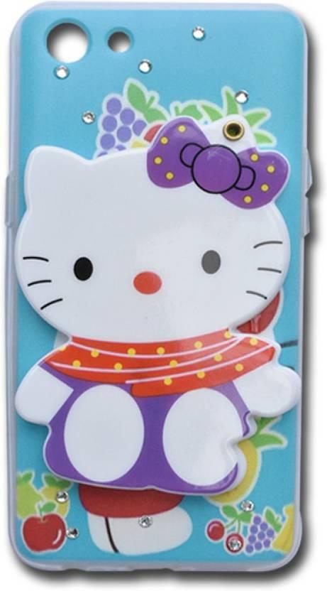 best service f6e35 7c032 Marshland Back Cover for Oppo A83 Designer Case Hello Kittty With ...