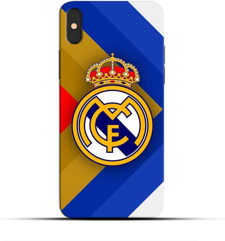 new style 321d0 fa89a Saavre Back Cover for Football,Logo ,Real Madrid Logo,White,Blue,Red ...