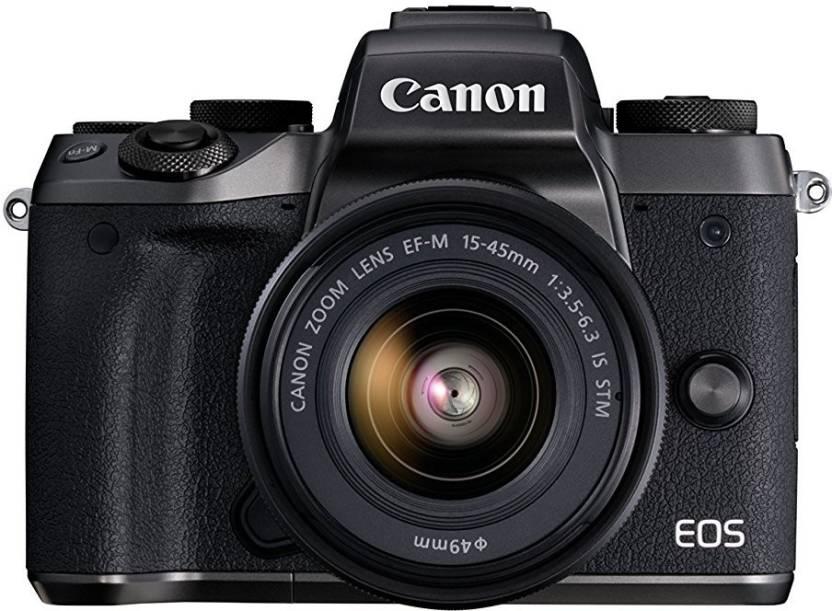 Canon M5 DSLR Camera EF M15 45 IS STM Black
