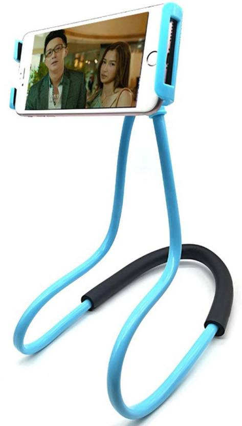 True Store ™ Hanging on Neck Cell Phone Mount Holder, Adjustable Universal Smartphone Stand with