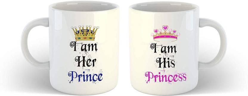 Ikraft Special Cute Gift For Boyfriendgirlfriend I Am Her Prince