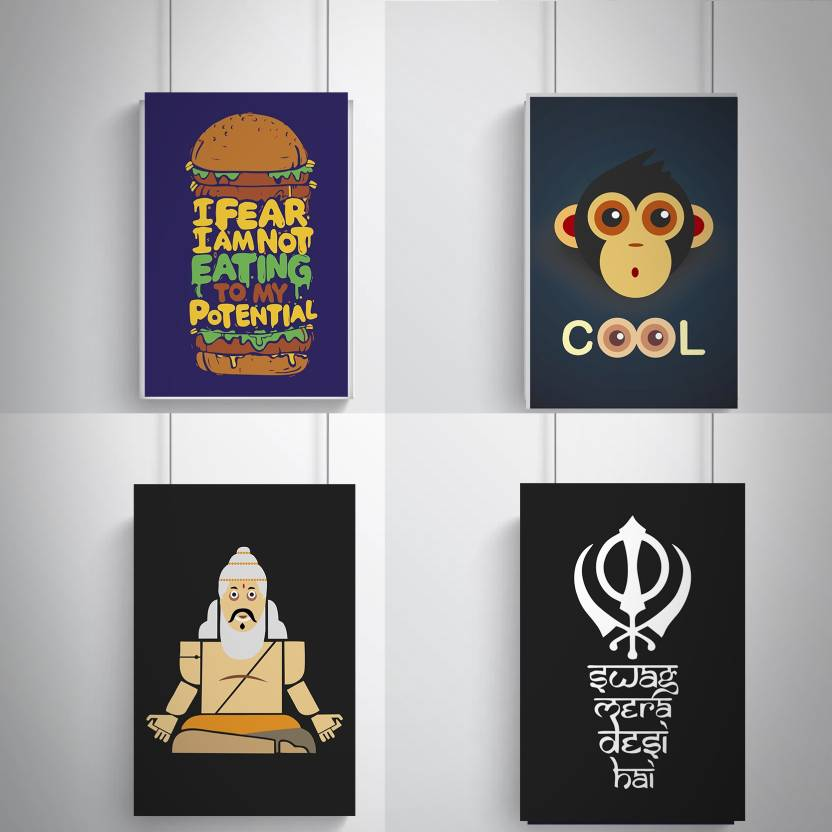 Cool, Trendy, Quirky Posters , Eating potential Add Some Quirkiness ...