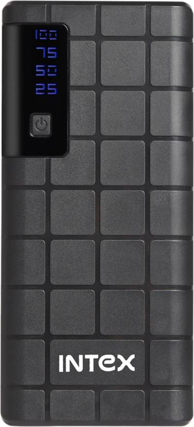 Intex 10000 mAh Power Bank (IT-PB 10K)(Black, Lith
