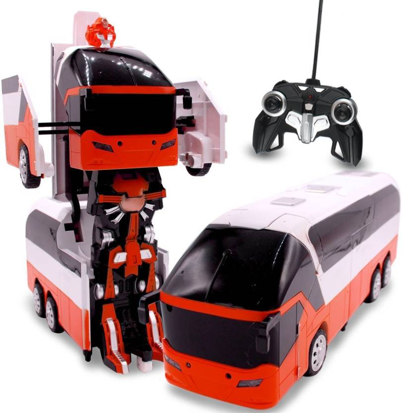 HALO NATION Transformer RC Bus Remote Control Robot Car 1:10 Scale