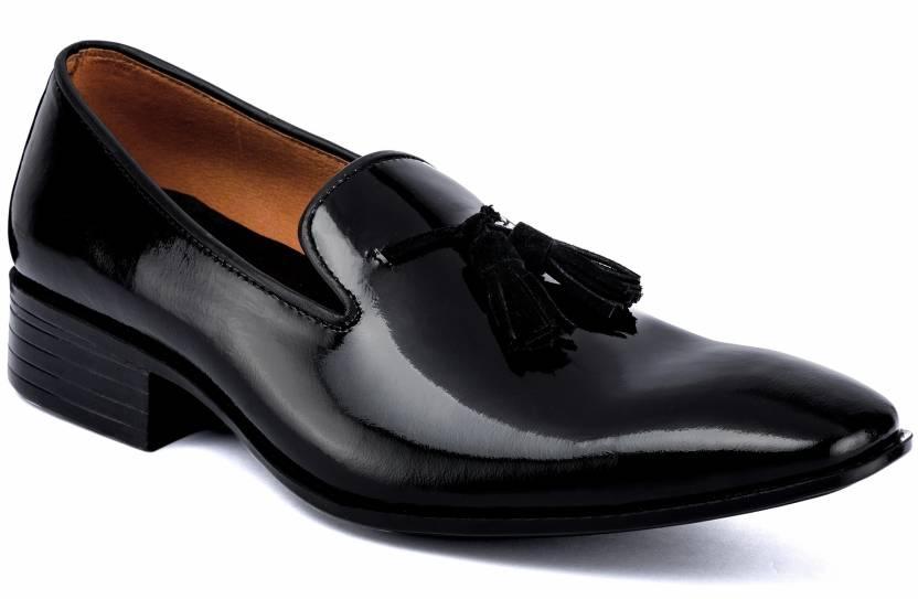 c78172124205 De Scalzo Italian Slip On Shoes For Men - Buy Black Color De Scalzo ...