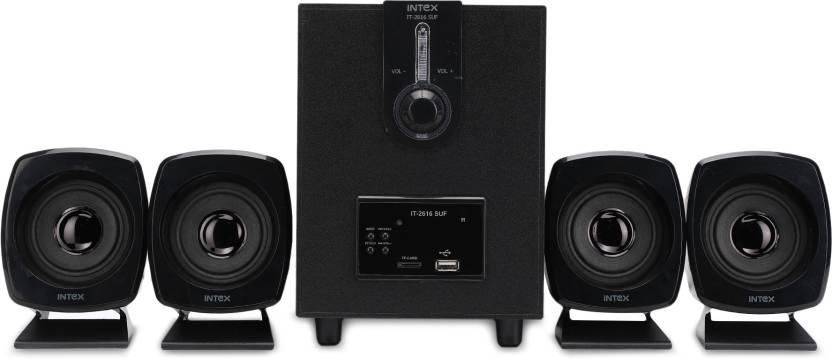 Intex IT-2616 SUF OS Multimedia 55 W Portable Home Audio Speaker  (Black, 4.1 Channel)