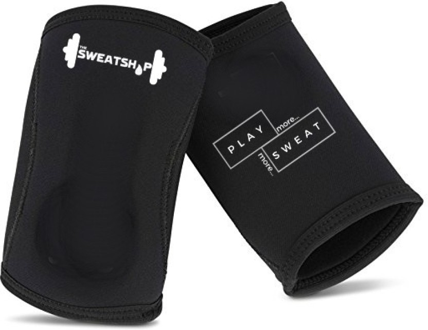 Elbow Support Brace 5mm Neoprene Sleeve Pads Compression Power Weight Lifting