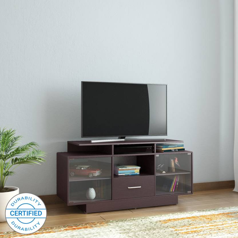 763b0e920 Glenco Harvey Engineered Wood TV Entertainment Unit (Finish Color - Wenge  M13)