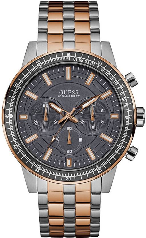 af8ed197f Guess Premium W0801G2 Two Tone Chronograph Watch - For Men - Buy Guess  Premium W0801G2 Two Tone Chronograph Watch - For Men W0801G2 Online at Best  Prices in ...