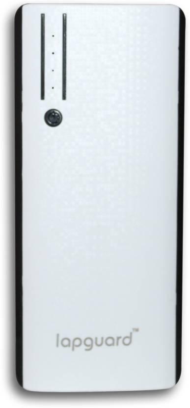 Lapguard 10000 Power Bank (GT_10K)  (White, Black, Lithium-ion)
