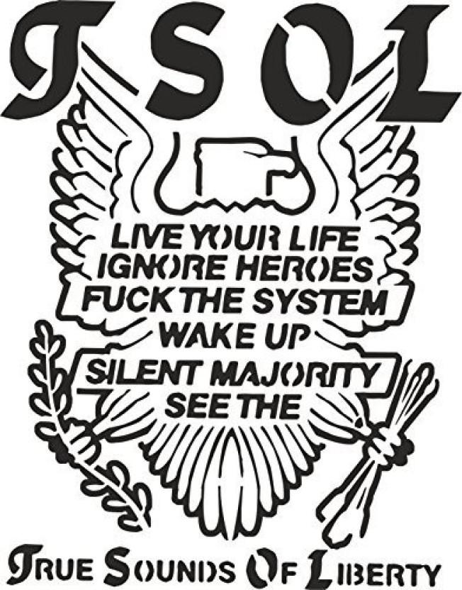 Pixiebitz True Sounds Of Liberty Stencil