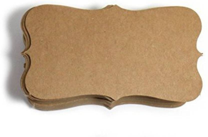 Ppiyo Kraft Paper Business Cards 100 K04 Blank For Products In India